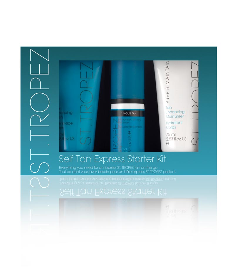 St. Tropez Self Tan Express Mousse Starter Kit