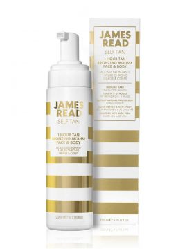 James Read 1 Hour Tan Bronzing Mousse Face & Body