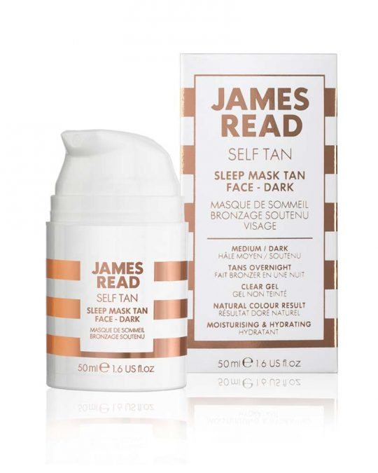 James Read Sleep Mask Face Dark