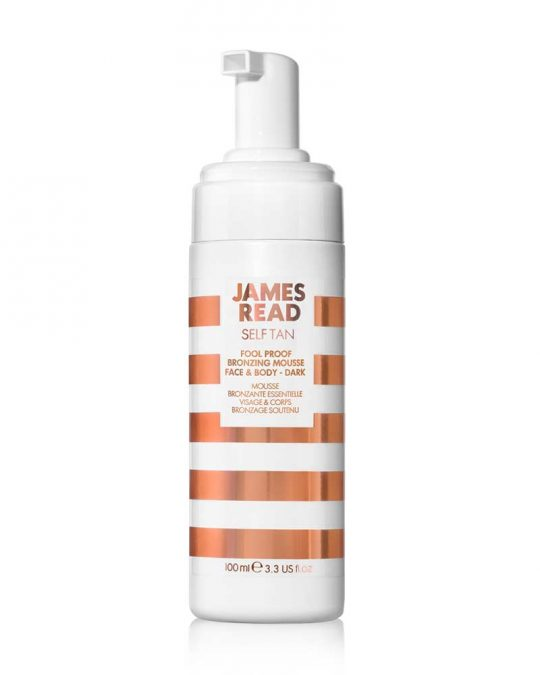 James Read Fool Proof Bronzing Mousse Dark