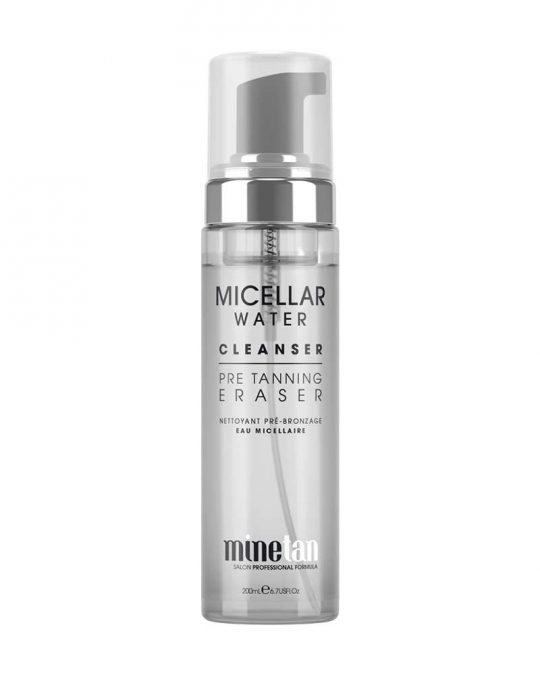 Mine Tan Micellar Water Pre Tan Cleanser
